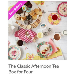 Classic Afternoon Tea Box for Four