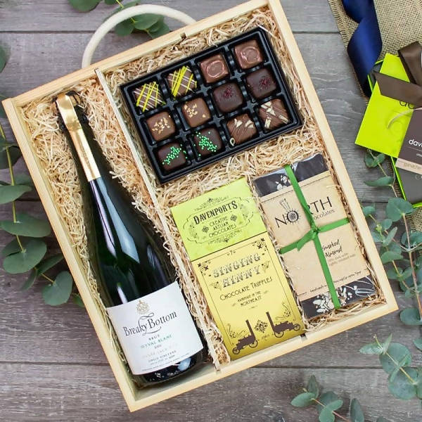 Breaky Bottom Sparkling Cuvée Gift Box available on Barbury Hill