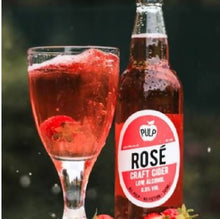 Load image into Gallery viewer, Low Alcohol Rosé Craft Cider, 0.5% ABV (Case of 12 x 500ml)
