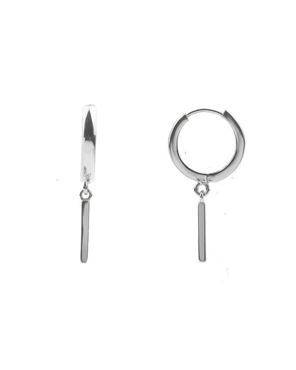 Souvenir Earrings Bar - Silver