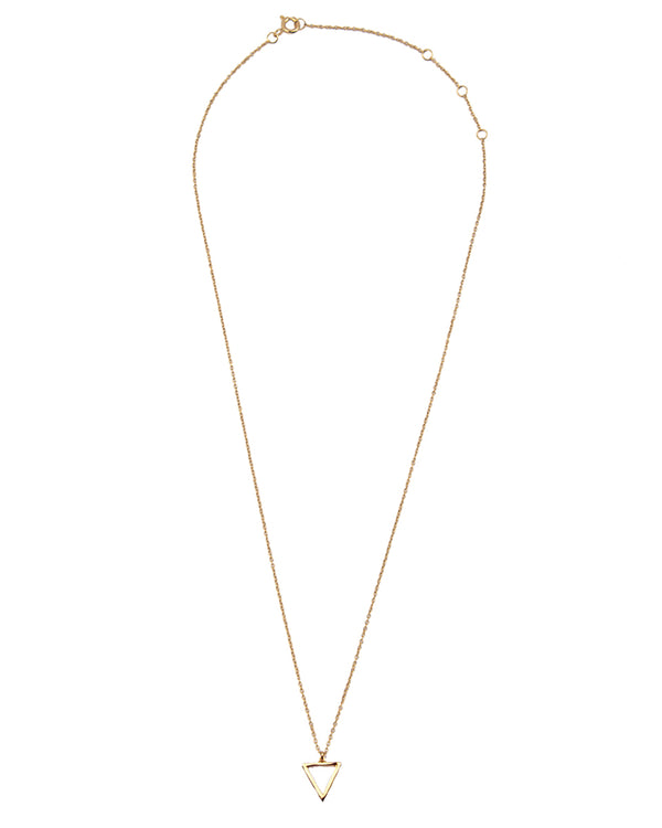 Necklace Triangle - Gold