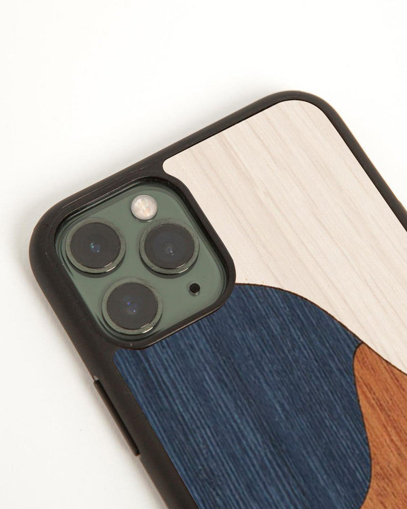 iPhone cover Inlay Blue