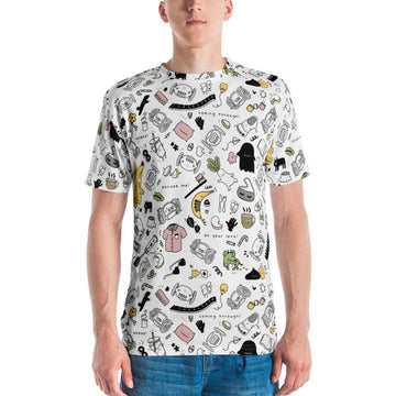 All-Over Men's Graphic Tee