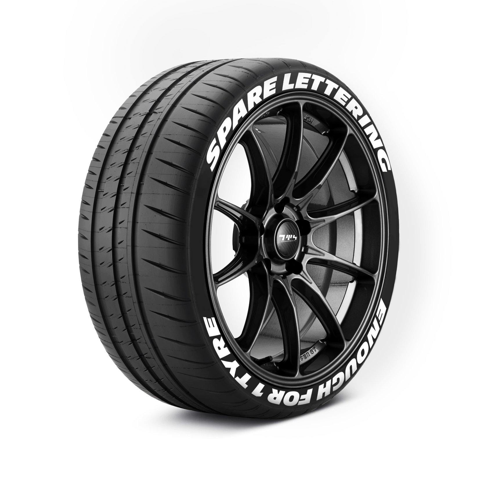 Replacement Decals - Tyre Wall Stickers