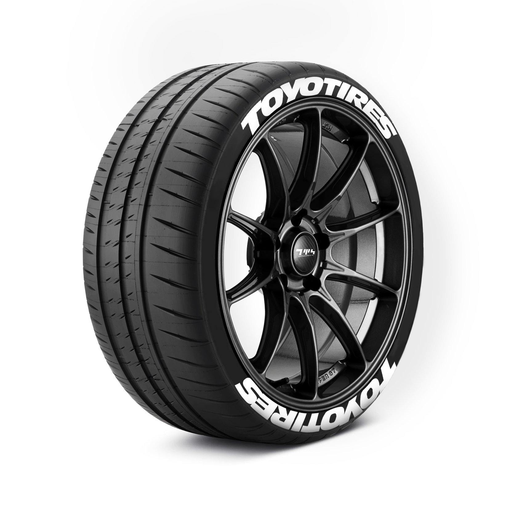 TOYO TIRES Tyre Stickers - Tyre Wall Stickers
