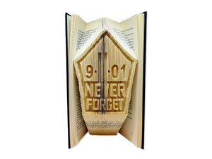 Never forget 9/11 - Book folding pattern