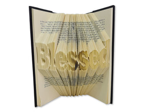 Blessed - Book folding pattern