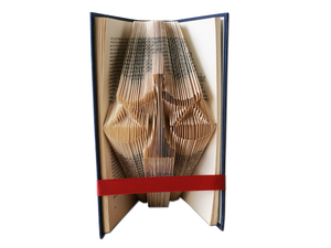 Scales of justice - Book folding pattern