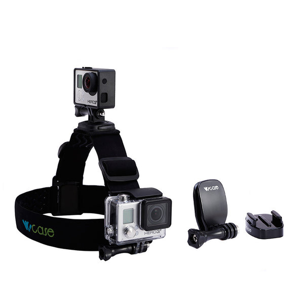 360° Swiveling Head Strap Duo Mount + Clip Mount