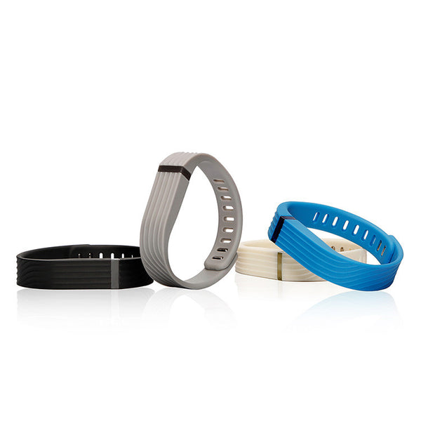 FlexBand 3D Classic Pack Accessory Wristband for Fitbit Flex Activity and Sleep Tracker