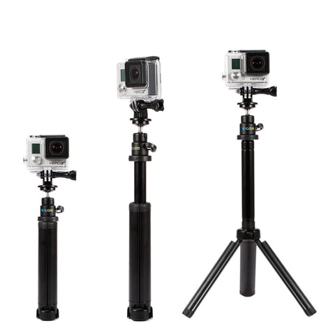 Hand Grip/Tripod/Extension Arm Multi Purpose Pole