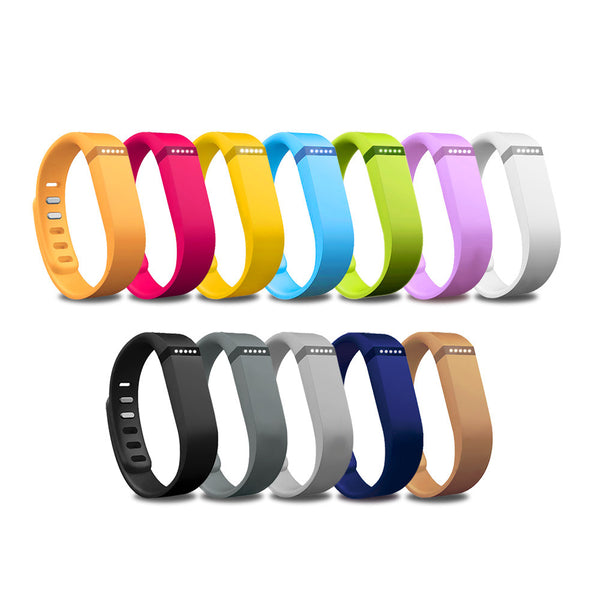 Accessory Wristband with Clasp for Fitbit Flex Activity and Sleep Tracker (Multiple Colors)