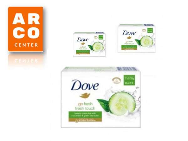 DOVE SAPUN 2X100G CUCUMBER GO FRESH