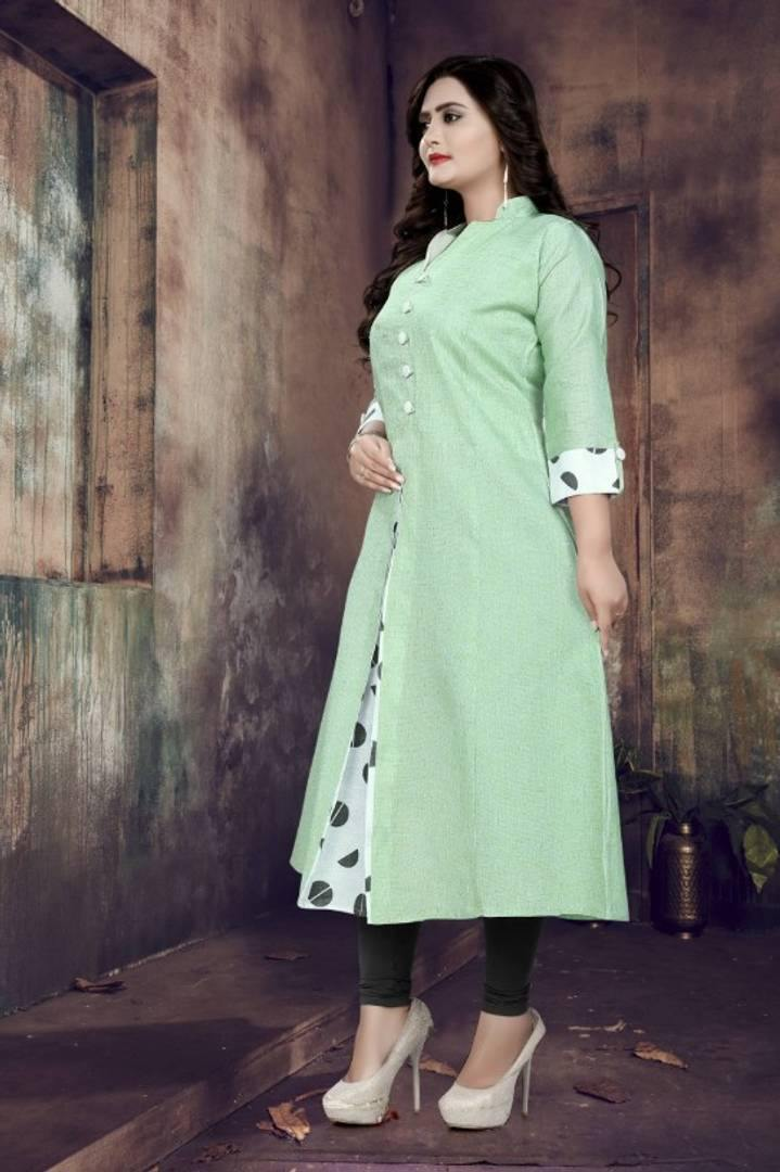 Stylish Khadi Cotton Kurti