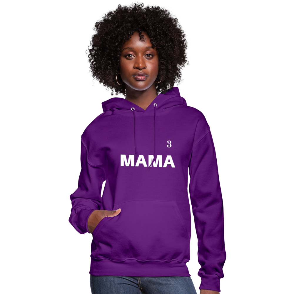 MAMA Customizable Hoodie - purple