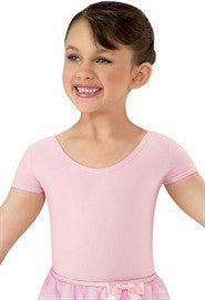 Cotton Short Sleeve Leotard
