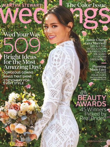 Jamie Chung | Martha Stewart Weddings