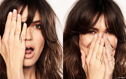 Mandy Moore in Byrdie, December 2016
