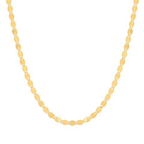 14K gold Medium sequence chain Sachi jewelry trendy