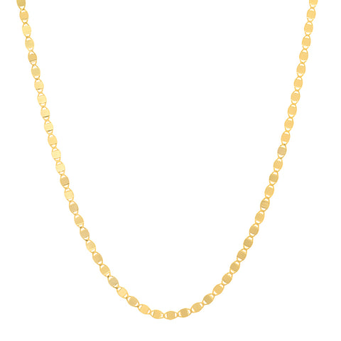 14K gold small sequence chain Sachi fine jewelry trendy