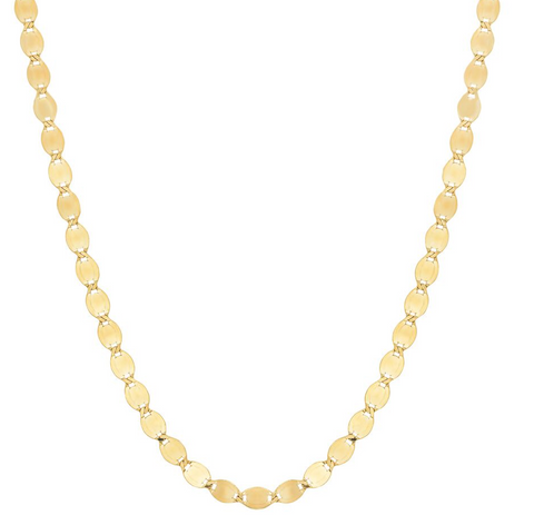 14K gold sequence chain necklace everyday layer sachi fine jewelry unique