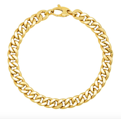 Chain Link Hollow Bracelet