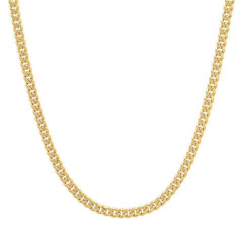 14K gold cuban chain Sachi jewelry
