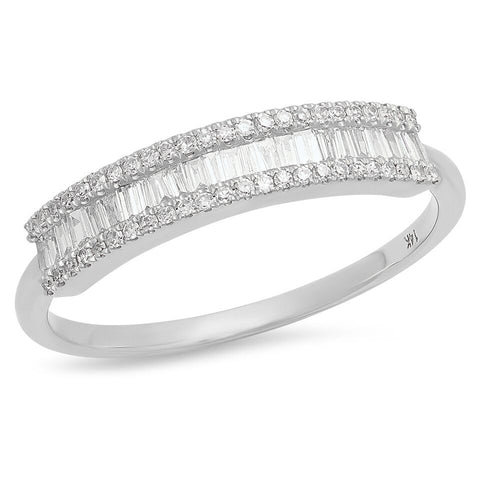 baguette micro pave diamond ring delicate dainty sachi ring jewelry