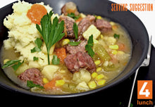 Load image into Gallery viewer, Joey's Hearty Corned Beef Stew 1lt or 500ml tub (GF, DF)