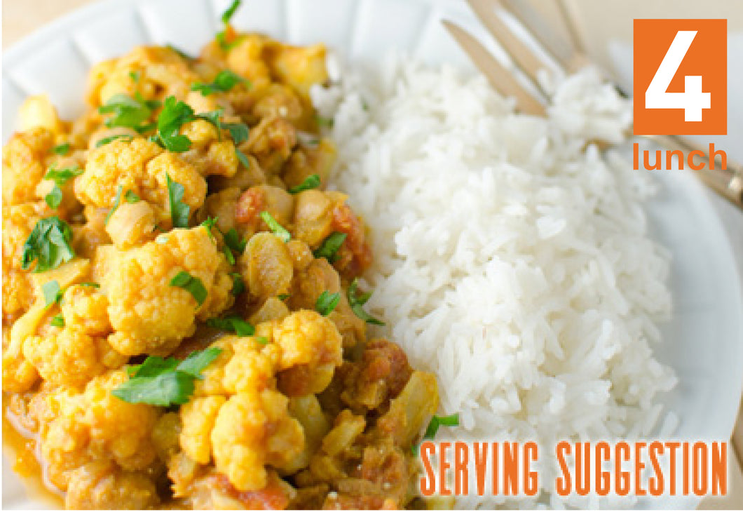 VEGAN Yellow Cauli Curry 1lt or 500ml tub (GF, Vegan)
