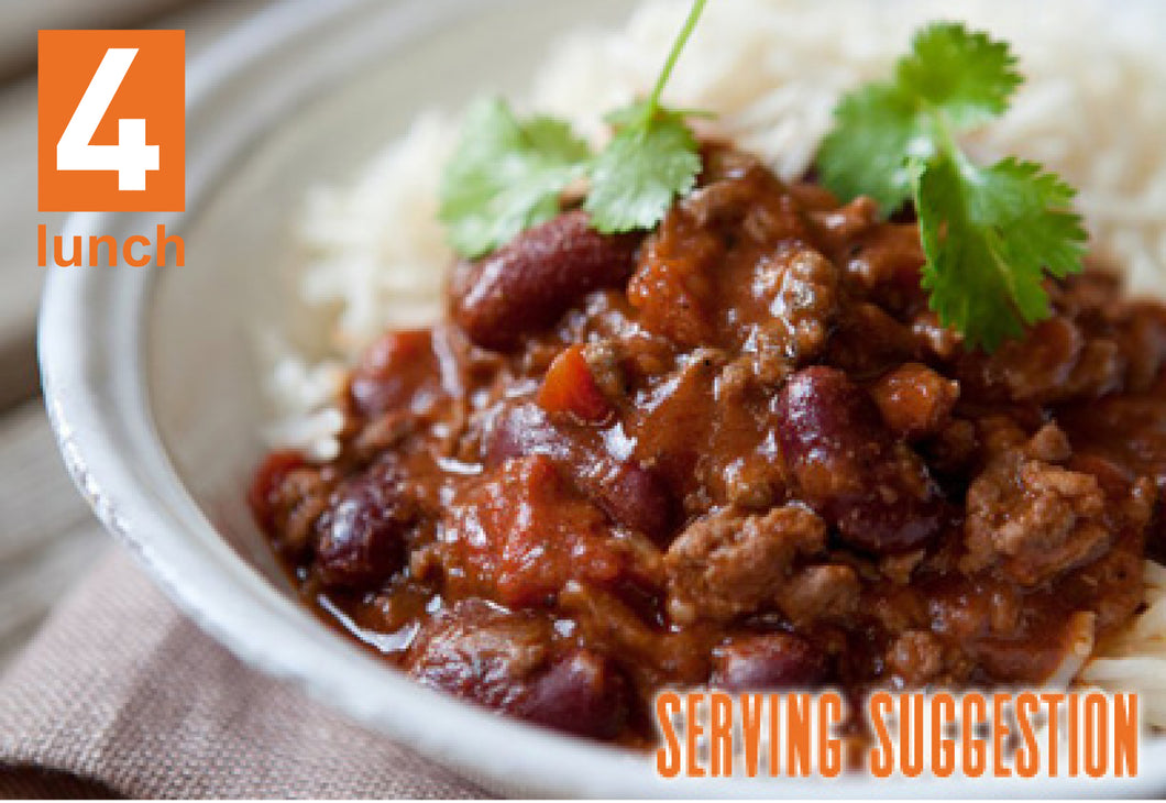 Chilli Con Carne 1lt or 500ml tub  (GF, DF)