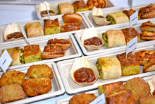 Load image into Gallery viewer, Individual Hot Finger Food - Bamboo Trays