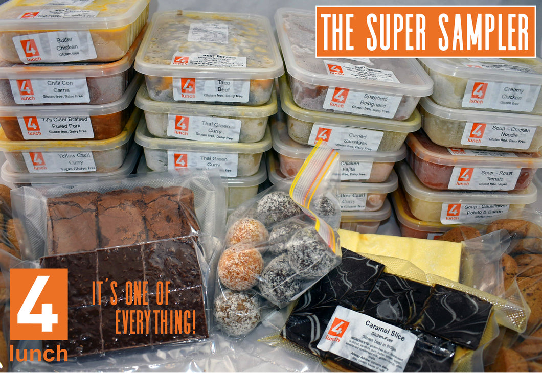 Super Sampler Pack - it's one of everything! (GF) - 3 day's notice required