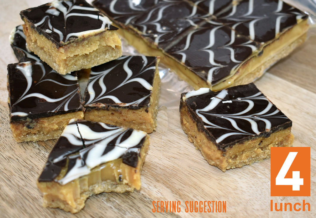 Caramel Slice 6-pack or 35-piece-slab (GF)