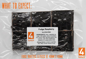 Fudge Raspberry 6-pack (GF)