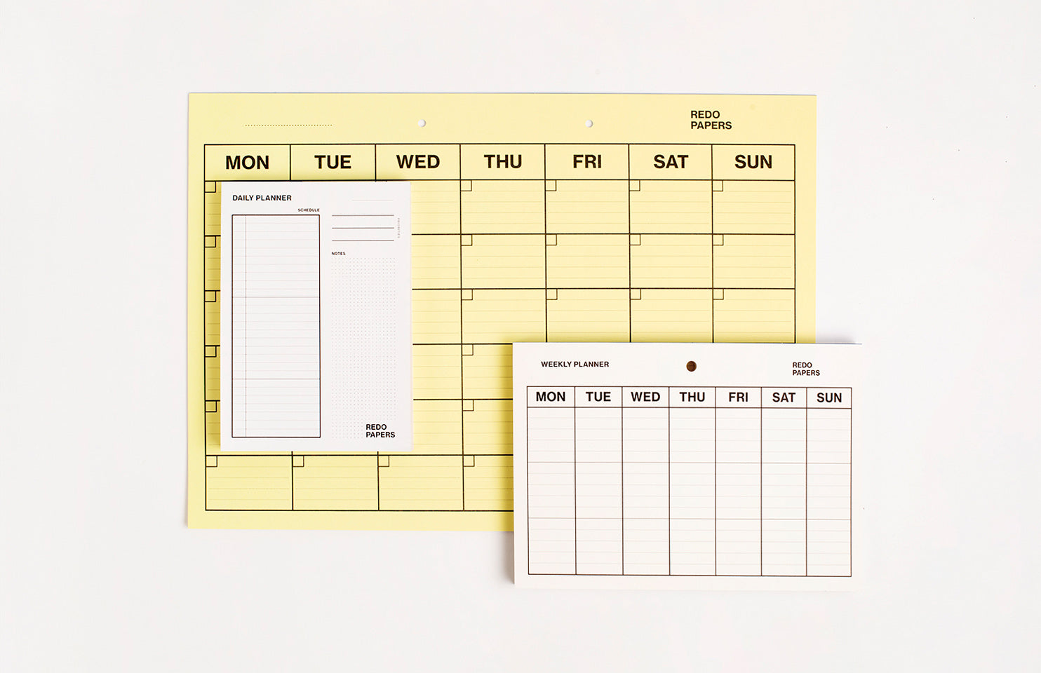 Why do we make a schedule?