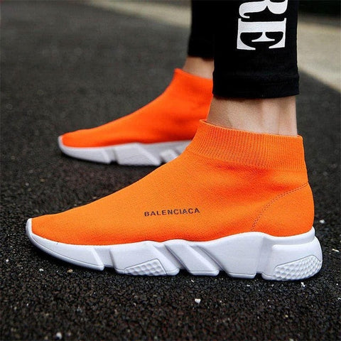 High quality lightweight men's casual shoes unisex sneakers breathe women's socks shoes zapatos de hombre balenciaca shoes