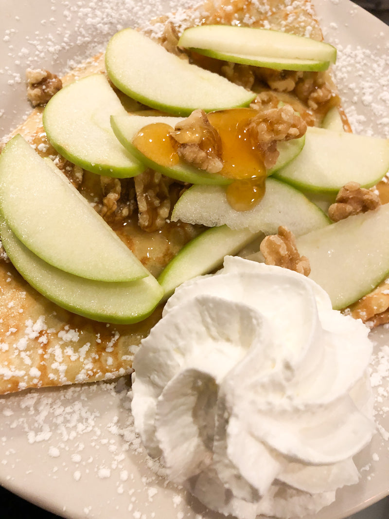 Apple And Brie Crepe