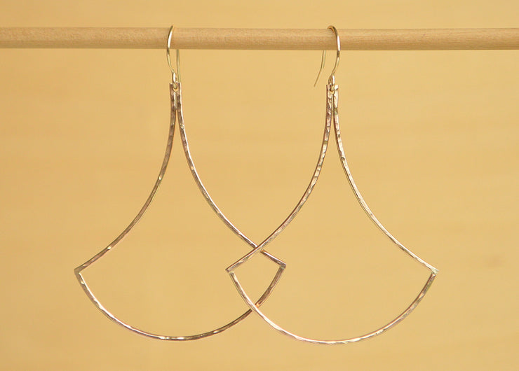 Large Ipu Earrings - Gold or Silver - Yay Hawaii