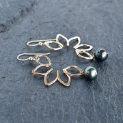 Five Tahitian Pearl Bangle - Yay Hawaii