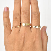 Thick Stacking Ring - Yay Hawaii