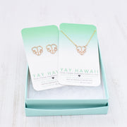 Cute Monstera Necklace - Yay Hawaii