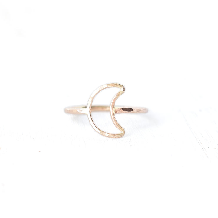 Crescent Moon Stacking Ring - Yay Hawaii