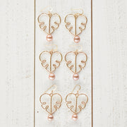 Edison Pearl Monstera Earrings - Yay Hawaii