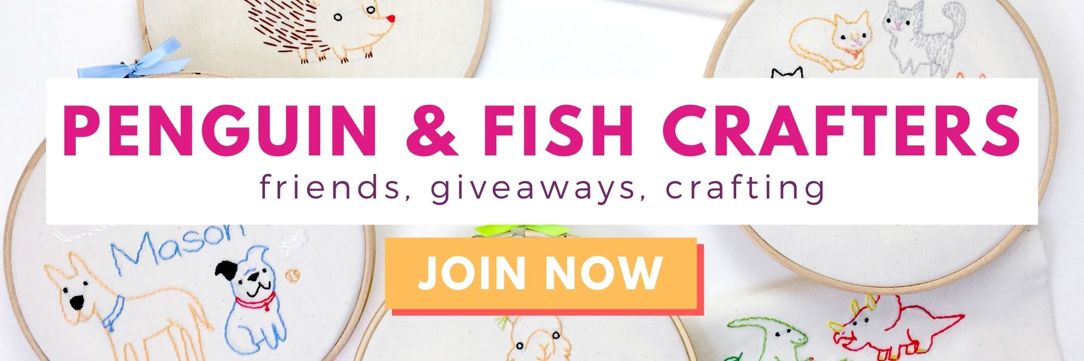 Private Facebook group, Penguin & Fish Crafters.