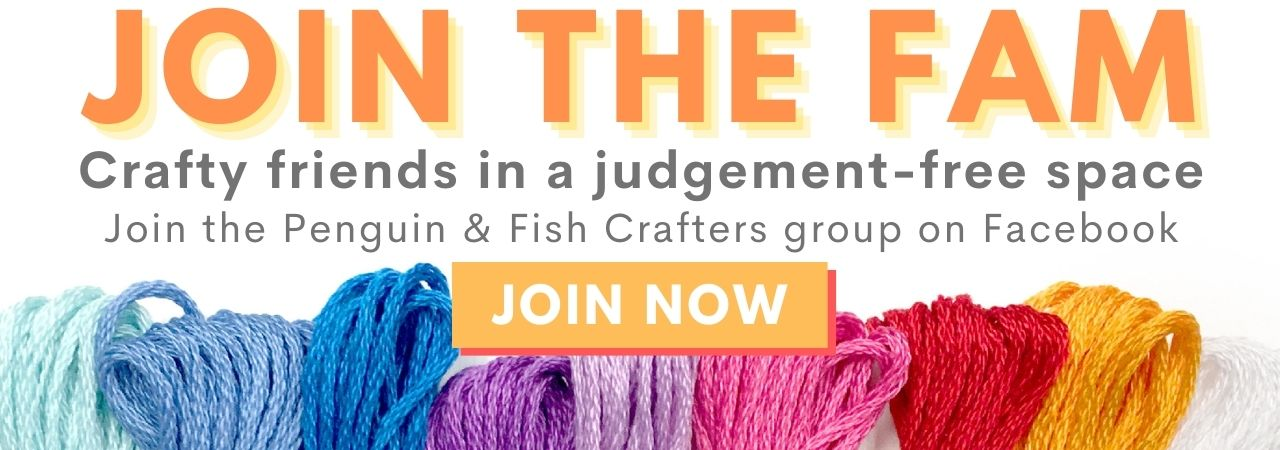 Join the Penguin & Fish Family on the Penguin & Fish Crafters Facebook Group