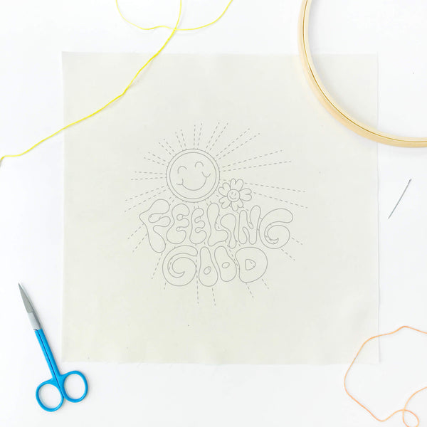 embroidery of the month fabric only