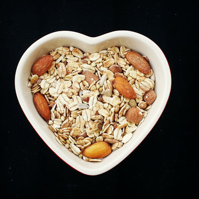 Oat based Muesli that is delicious, has no fried fruit, low sugar, low salt, high in fibre, high in protein and all natural. Made in New Zealand. Diabetic friendly