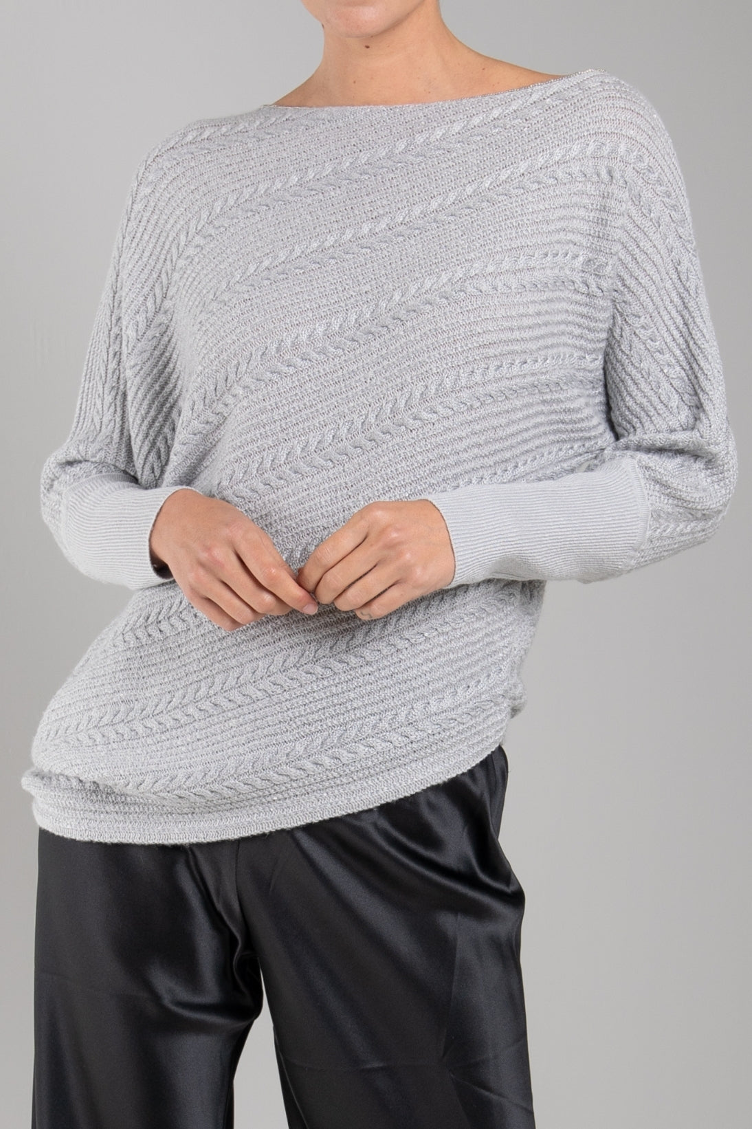 ASYMMETRICAL SWEATER