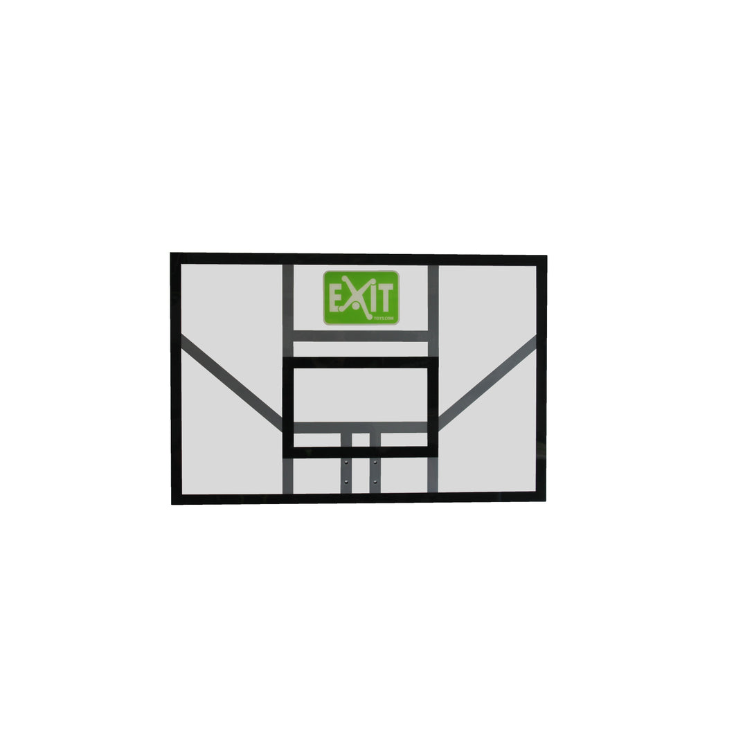 EXIT Galaxy basketball backboard - green/black